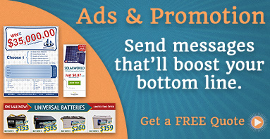 Ads and Promotional Designs: Messages to boost your bottom line.