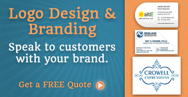 Logo Design & Branding: Speak to customers with your brand.